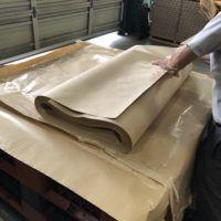 雑貨を包み込む包装紙です。インターネット通販での需要があります。