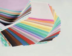 薄葉紙のカラーです