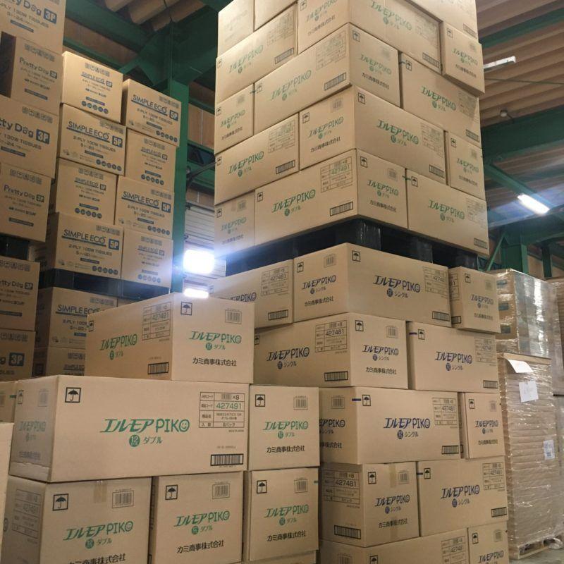 トイレットペーパー卸売は浜田紙業です