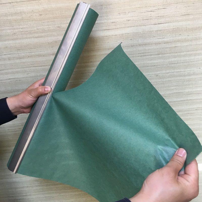 パーチロール紙は適度なサイズに切れます