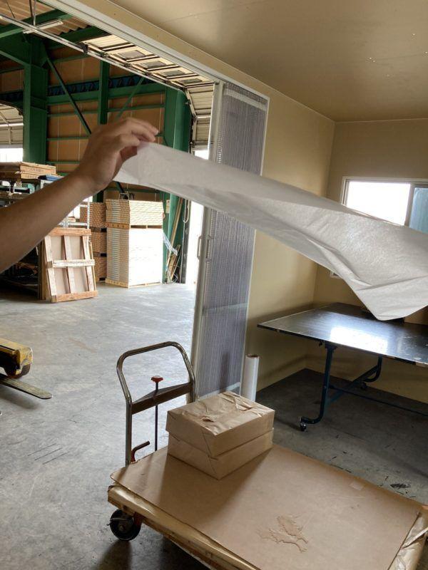 薄葉紙は薄い紙でラッピング等で使用できます