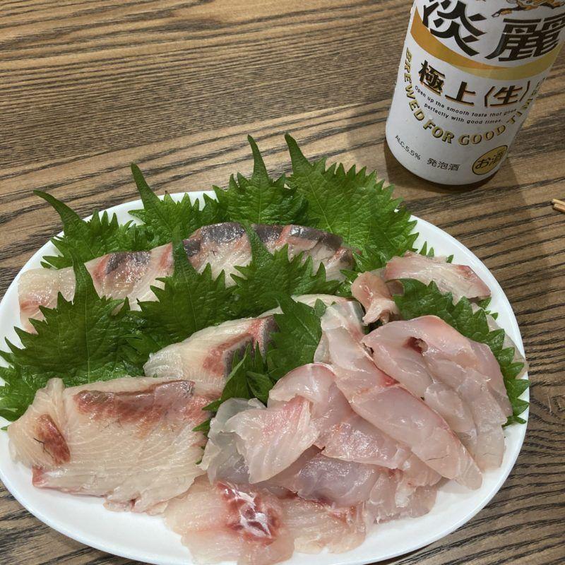 魚の熟成です