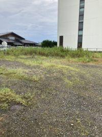 浜田紙業の空き地です