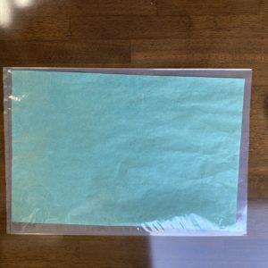耐水紙グリーンの袋です