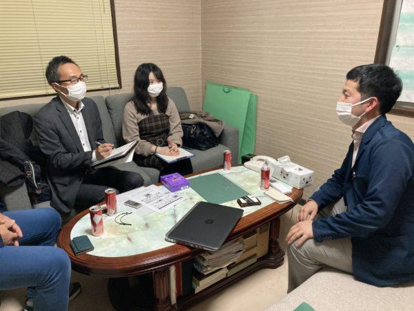 石川県産業創出機構から取材を受けました
