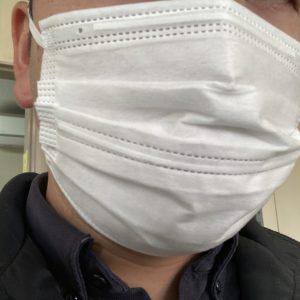 柔らかいマスクです