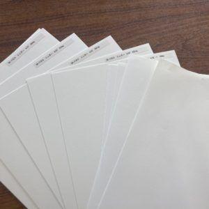 バガス紙はサトウキビが原料です