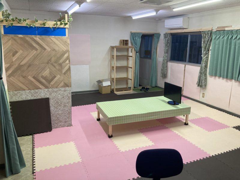 浜田紙業の休憩部屋です