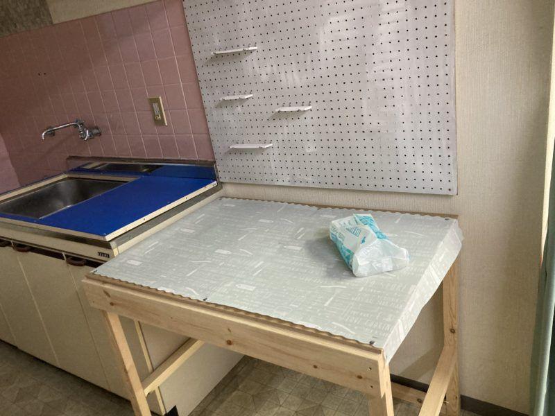 浜田紙業のキッチンです