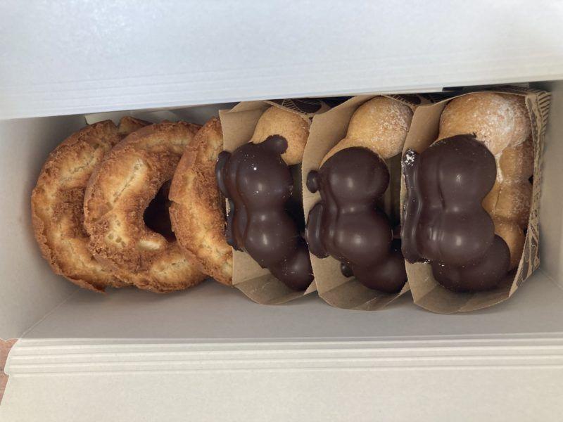 ドーナッツを包んでみた