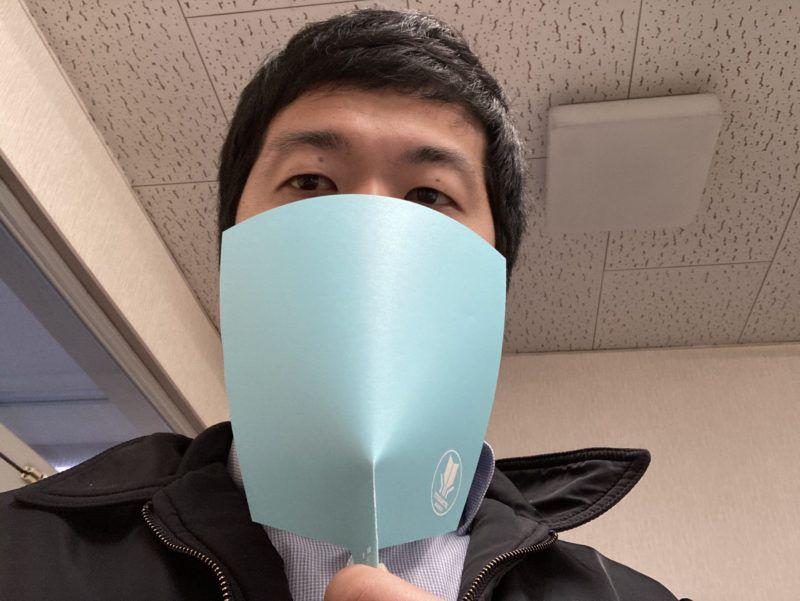 大きめサイズの飛沫飛散防止アイテムです