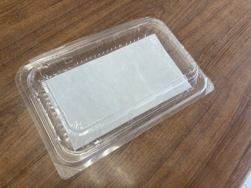 天ぷら敷き紙です