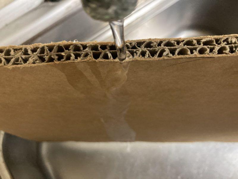 ハイプルエースの耐水性について