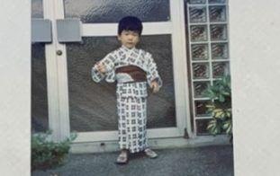 浜田浩史の3歳写真